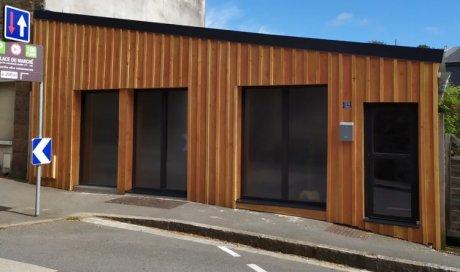 Bardage façade à Perros-Guirec - entreprise de toiture façade, RENOVTOIT ENVIRONNEMENT