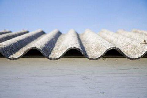 Toiture fibro ciment amiante Ploumagoar