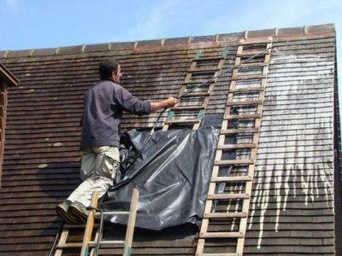 Anti mousse toiture Ploumagoar