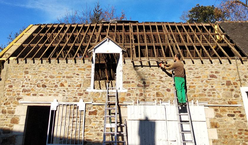 Peinture renovation toiture fibro ciment
